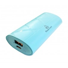 POWER BANK 3000mAh blue-White-Black