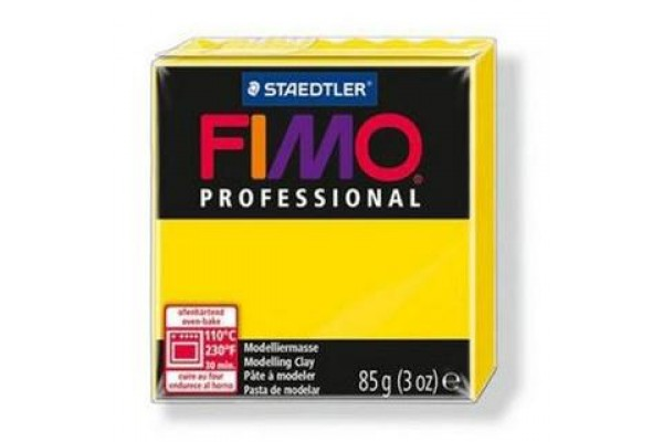 STAEDTLER ΠΗΛΟΣ FIMO PROFESSIONAL 85gr PURE YELLOW