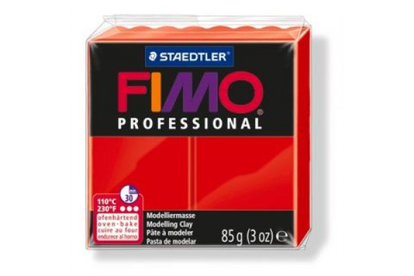 FIMO PROFESSIONAL 85gr PURE RED