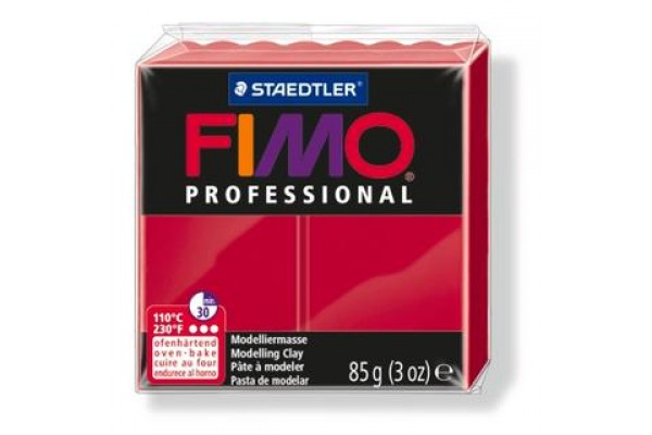 FIMO PROFESSIONAL 85gr CARMINE