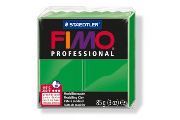 STAEDTLER ΠΗΛΟΣ FIMO PROFESSIONAL 85gr SAP GREEN
