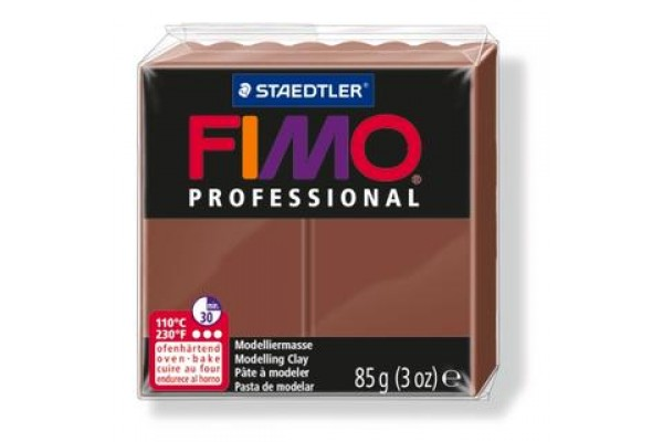 FIMO PROFESSIONAL 85gr CHOCOLATE