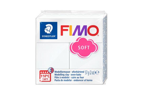 FIMO 8020-0 SOFT 57gr ΛΕΥΚΟ