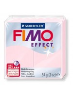 FIMO 8020-206  EFFECT 57gr ΡΟΖ ΓΥΑΛΙΣΤΕΡΟ