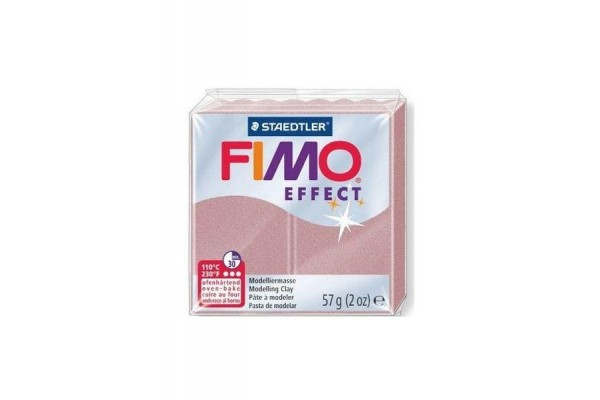 FIMO 8020-207 EFFECT 57gr ROSE GOLD PEA