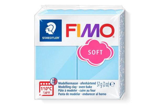 STAEDTLER ΠΗΛΟΣ FIMO 8020-305  EFFECT 57gr PASTEL ΣΙΕΛ