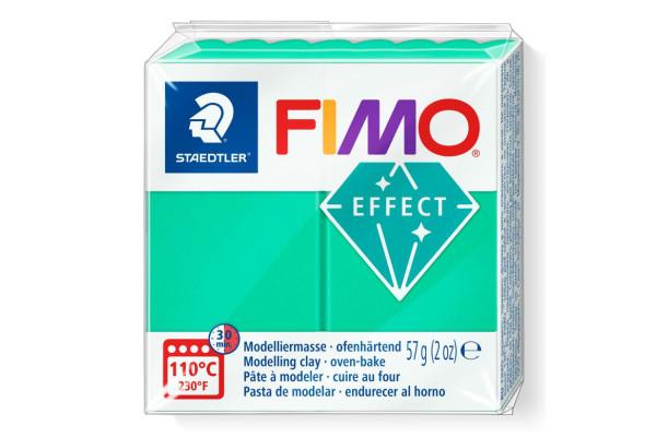 FIMO 8020-504 EFFECT 57gr ΔΙΑΦΑΝΟ ΠΡΑΣΙΝΟ