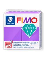 FIMO 8020-604 EFFECT 57gr ΔΙΑΦΑΝΟ ΜΩΒ