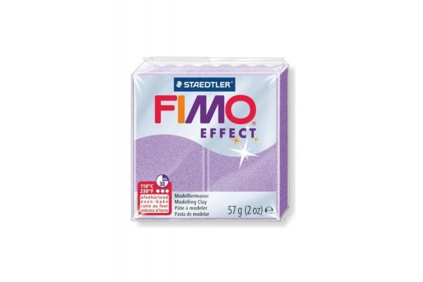FIMO 8020-607 EFFECT 57gr LILAC PEARL