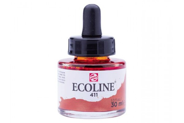 ECOLINE ROYAL TALENS 30ML BURNT SIENNA