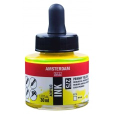 ΜΕΛΑΝΙ INK AMSTERDAM 30ML PRIM. YLW.
