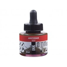 ΜΕΛΑΝΙ INK AMSTERDAM 30ML BURNT UMBER
