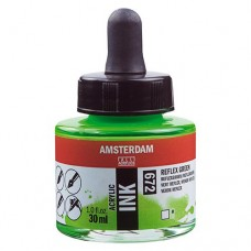 ΜΕΛΑΝΙ INK AMSTERDAM 30ML REFLEX GREEN